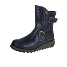 Fly London Womens Sven Boots Blue