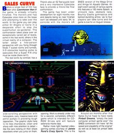 The Lawnmower Man is a platform / action game based on the 1992 film of the same name, developed by Sales Curve (SCi) and released for the Super Nintendo and Sega Genesis / Mega Drive (with different versions on PC, Sega CD and Gameboy). As we can read from Wikipedia,…
