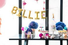 Billie. A party by Poppies for Grace. PC: Jaz Blom. Cake Credit Treats for Evie