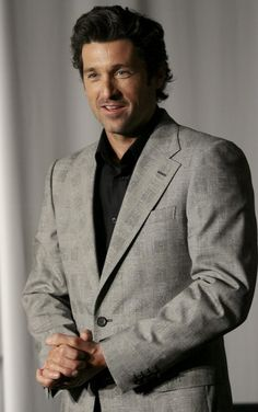 Patrick Dempsey = THE PERFECT MAN! - 2008 photo alberto pellaschiar collezione gianni versace autunno inverno'08-'09 milano italia