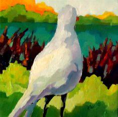 "Daily Paintworks - ""Afar"" - Original Fine Art for Sale - © Laurie Mueller"