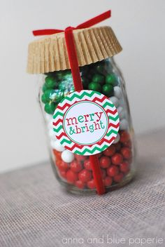 PRINTABLE Chevron Christmas Tags by anna and blue by annaandblue