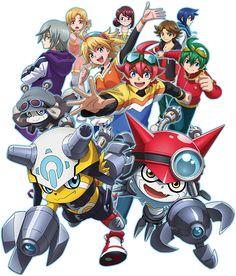 Digimon Universe: Appli Monsters |  Female Protagonist | Gatchmon | Male Protagonist | Naoto | Offmon | Onmon | Shinkai Haru