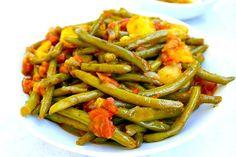 Haricots verts à l'italienne au Thermomix - Cookomix
