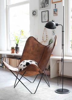 Butterfly chair | Photographer Anke Leunissen | Styling Kim de Groot | Text Floor Roelvink | vtwonen December 2015