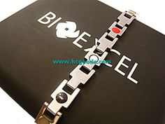 Quantum & Tungsten Bracelets - Tungsten Quantum Bracelet - Silver Lock Design (Women)