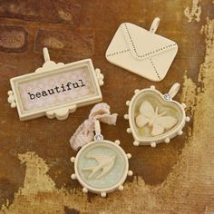 Prima - Songbird Collection - Trinkets - Metal Embellishments at Scrapbook.com $5.99
