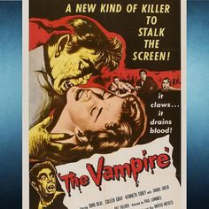 THE VAMPIRE (1957). Another old bloodsucker flick. I could watch these all day. #horror #horrormovies #31daysofhalloween #nowwatching by captainmurphy
