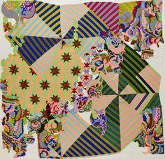 Sabine Boehl, memories (Isfahan-Stella-Cordoba, Windmills of Your Mind) on ArtStack #sabine-boehl #art