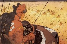 Interview by Dominique Mirambeau - Jean Giraud, better known as MOEBIUS, is probably the most important fantasy comic artist of all time. Jean Giraud, Manado, Comic Book Artists, Comic Artist, Comic Books, Moebius Art, Western Comics, Fantasy Comics, Game Character Design