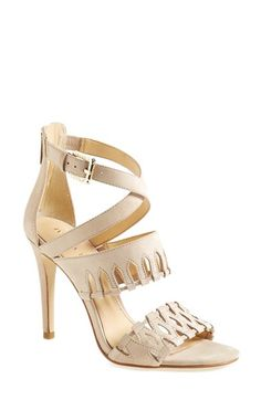 Ivanka Trump 'Drita' Laser Cut Sandal (Women) available at #Nordstrom