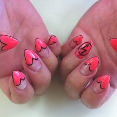 Heart French:) Kawaii Nails in Tustin CA
