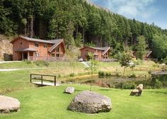 Penvale Lake Lodges in Llangollen, North Wales Pet Friendly Holidays, North Wales, Lodges, Pets, House Styles, Home Decor, Cabins, Decoration Home, Room Decor
