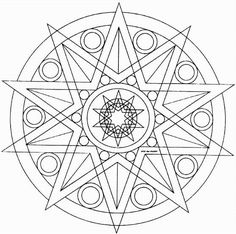 Mandala Coloring Pages If you color, you will want to learn to draw your on design!
