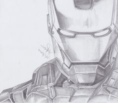 Iron man easy sketch at paintingvalley com explore collection of Iron man sketch by tyndallsquest deviantart com on deviantart Iron man drawing in pencil at Iron Man Logo, Iron Man Poster, Iron Man Cartoon, Avengers Drawings, Drawing Superheroes, Pencil Drawing Tutorials, Pencil Drawings, Drawing Projects, Pencil Art