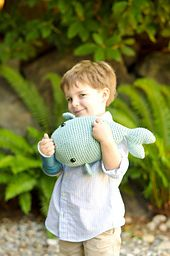 Whale @Kendal L Roraff what do you think?   Ravelry: M. Richard the Whale pattern by Stacey Trock