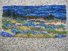 """Deanne Fitzpatrick....I am a big fan of hers. I got into rug hooking after finding one of her books, """"Hook Me A Story"""""""
