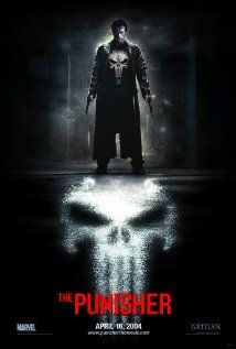 THE PUNISHER (2004): After his wife and family are killed, G-Man Frank Castle takes it upon himself to distribute punishment to those responsible for the vendetta.