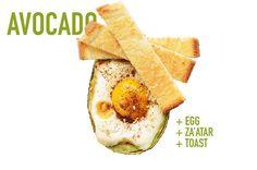 17 Ways To Eat An Avocado - Egg + Za'atar + Toast