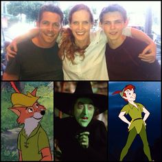 What Oncers See vs. What my childhood sees. This is FUNNY! Although my Peter Pan was (and is) Jeremy Sumpter.