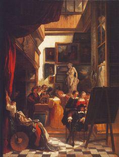 Henri Leys, Burgemeester Six bij Rembrandt