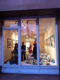 Gallery at night