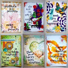 art journaling blogs | Art Journal by Karenika