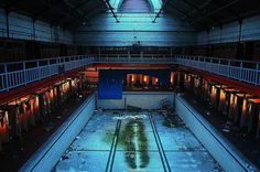 Abandoned Harpurhey Swimming Baths Manchester x Empty Pool, Place To Shoot, Digital Photography School, Abandoned Places, Haunted Places, Abandoned Mansions, Abandoned Buildings, Photo Location, Architecture