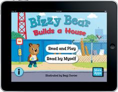 Bizzy Bear Builds a House $3.99