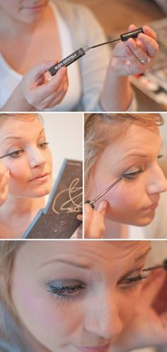 Makeup Tutorials for Blue Eyes -Smoky eye make-up how to tutorial -Easy Step By Step Beginners Guide for Natural Simple Looks, Looks With Blonde Hair Colour and Fair Skin, Smokey Looks and Looks for Prom https://www.thegoddess.com/makeup-tutorials-blue-eyes