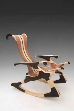 Unique Wood Sculpture That You Can Sit In