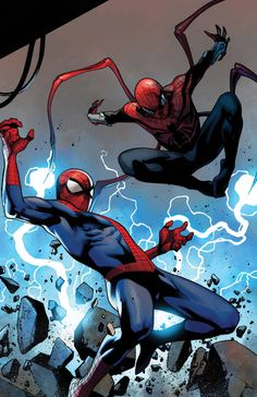 COMICS: Finally! The AMAZING And SUPERIOR Spider-Men Battle It Out This November