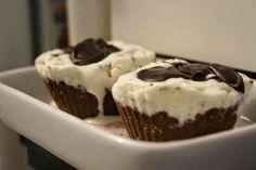 cupcake gelado de nutella