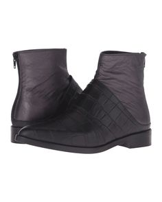 MM6 by Maison Martin Margiela | Black Layered Leather Chelsea Boots | Lyst