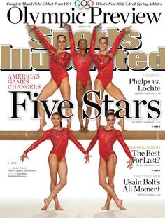gymnastics. I miss getting to watch this every day during the Olympics!