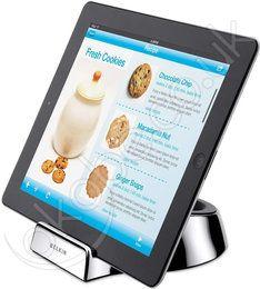 适用于 iPad 2 的 Belkin Chef Stand - Apple Store(中国) Ipad Stand, Tablet Stand, Mobile Accessories, Computer Accessories, Holiday Gift Guide, Holiday Gifts, Christmas Gifts, Iphone Photo Printer, Ipad Kitchen Stand