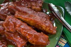 The Most Tender Country Style Honey BBQ Ribs. Photo by mis liz