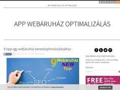App Webáruház Optimalizálás