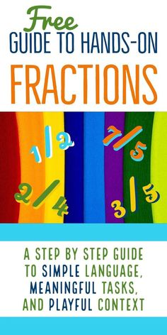 Teaching Fractions with Cuisenaire rods begins with naming fractions. But we don't want to just learn fraction names. We also want to students to gain a conceptual understanding of fractions. Fraction Games, Fraction Activities, Math Activities, Math Games, Math 5, Math Literacy, Educational Activities, Teaching Fractions, Teaching Math