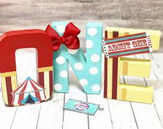 Image result for circus letters one