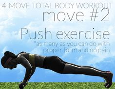 The Total Body Workout That's Only 4 Moves