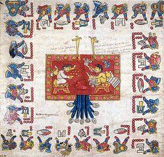 Cipactónal y Oxomoco, esposos creadores del calendario y de los dias- Wikipedia, la enciclopedia libre