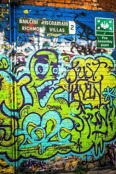graffiti & street art at portobello (dublin)