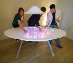 Corian Roulette Table by Moritz Waldemeyer | Yanko Design