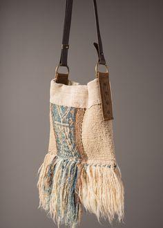 Fringed Woven Side Bag – J AUGUR DESIGN