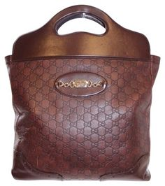 Gucci Punch Top Brown Tote Bag $813