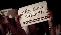They can't break us!