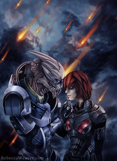 Theres No Shepard Without Vakarian by RebeccaWeaver.deviantart.com on @deviantART