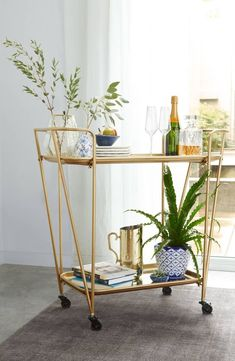 12 Ultrachic Bar Carts to Elevate Your Space Without Wounding Your Wallet