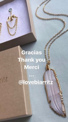 Handmade jewelry by @lovebiarritz